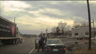 Bordentown traffic stop (GRAPHIC LANGUAGE)