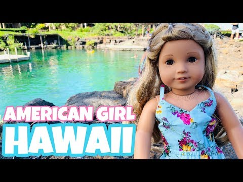 American Girl Doll Hawaii Trip
