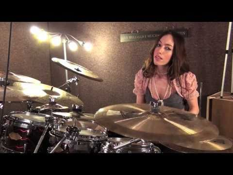 THREE DAYS GRACE - NEVER TOO LATE - DRUM COVER BY MEYTAL COHEN