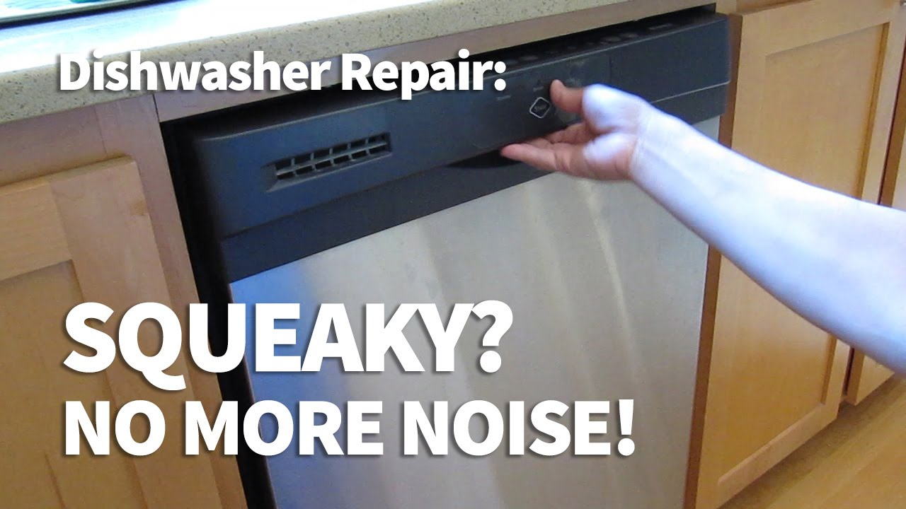 Squeaky Dishwasher Door Fix Easy Diy Hinge Repair Youtube