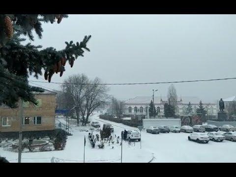 В Волгоградской области начался снегопад