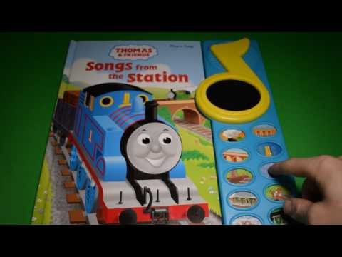 THOMAS & FRIENDS SONGS FROM THE STATION PLAY-A-SONG BOOK TRAIN SOUND