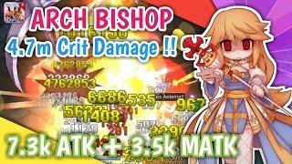 TERCYDUK !! PRO ARCH BISHOP CAT BATTLE TYPE 4.7M CRITICAL DAMAGE !! RAGNAROK MOBILE