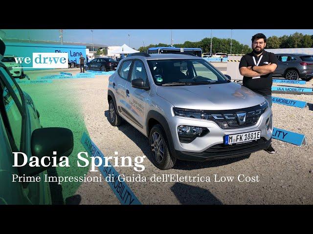 Dacia Spring | Prime Impressioni di Guida dell'Elettrica Low Cost (ENG SUBS)