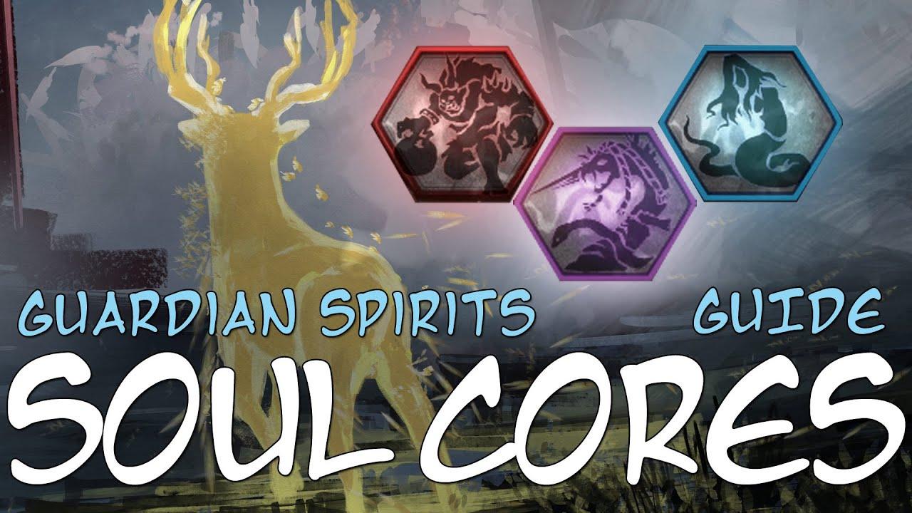 Nioh 2 Guide to Guardian Spirits & Soul Cores