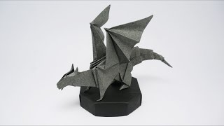 ORIGAMI DRAGON ON MY ETSY SHOP!