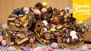 Easter Egg Chocolate Fridge Cake - the best way to use up your Easter Eggs! -   Cupcake Jemma