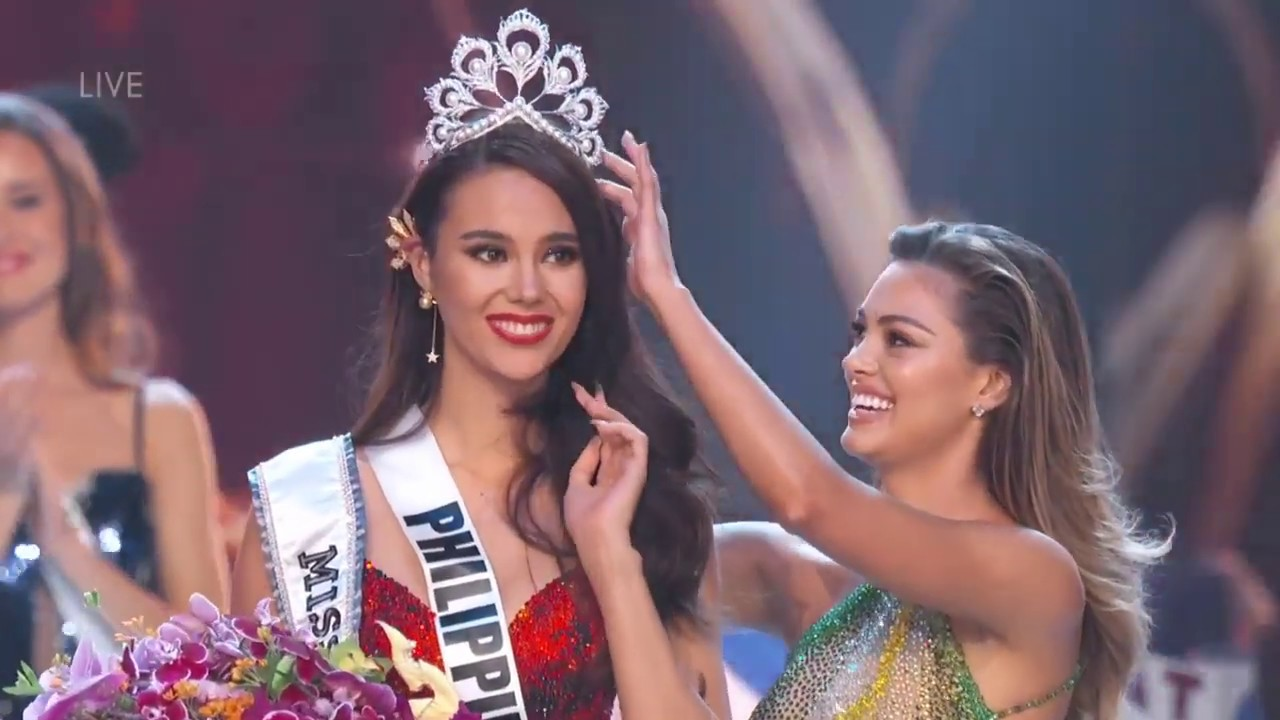 Crowning Moment Miss Universe 2018 Youtube