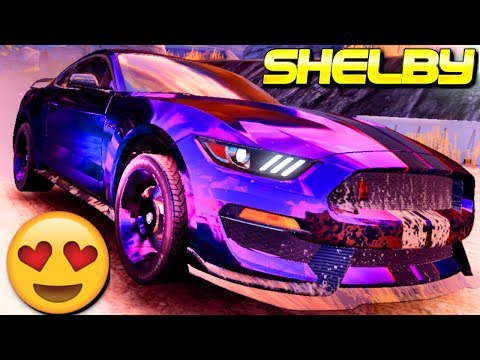 THE BEAUTIFUL BEAST! 😍💜 Ford Shelby GT350R (Rank 2500) Multiplayer In Asphalt 9