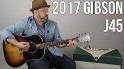 Gibson J45 Acoustic Guitar Demo