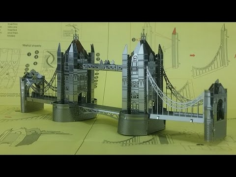 Metal Earth Build - London Tower Bridge