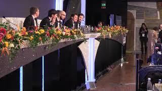 I Pinguini Tattici Nucleari conferenza terzo posto Sanremo 2020