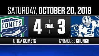Comets beat Crunch in a thriller