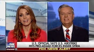 Graham Reacts to Syria News and Latest on Russia Investigation with Jenna Lee