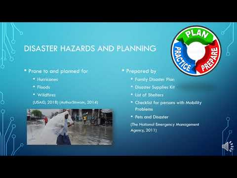 Bahamas Disaster Management oral presentation