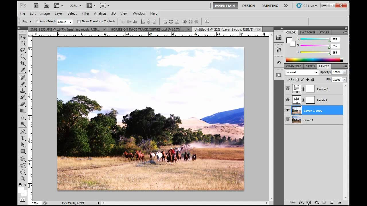 how to make an image a layer in photoshop