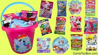 Blind Bags Opening Toys Peanuts Palace Pets Shopkins Minnie Mouse Disney Fuzzy Friends LPS MLP Troll