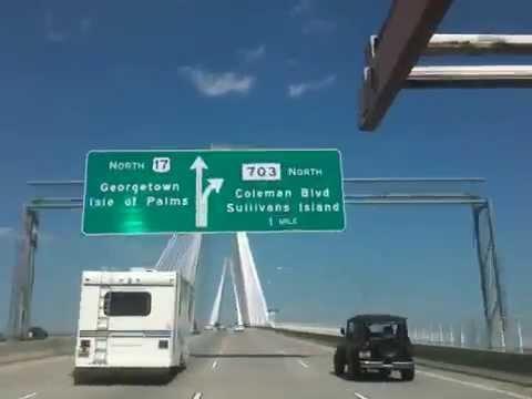 El Puente Mas Grande En Charleston Sc