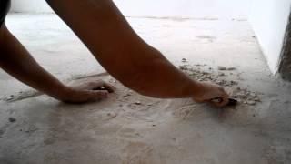 видео Решение проблемы рыхлой стяжки.