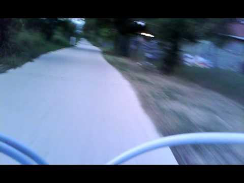 Cement trail @ O.P.Schnable Park, SA Tx