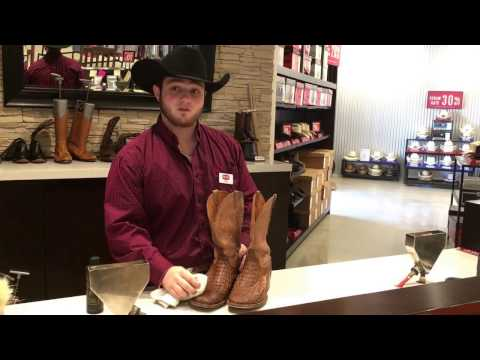 How To Clean Exotic Cowboy Boots