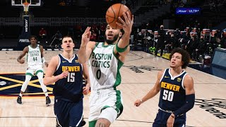 Celtics Hold Nuggets To 8 Pts In 4th! Snap 8 Game Streak!