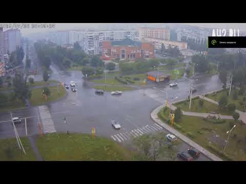 Авария в Прокопьевске 26.07.2019