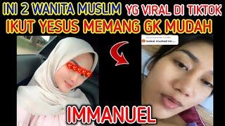 Download Dua Wanita Cantik yang viral ditiktok MENGENAL YESUS