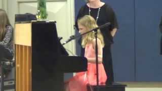 """&quotAs Long As I'm With You"""" Olivia Carey Live at Choir Concert"""