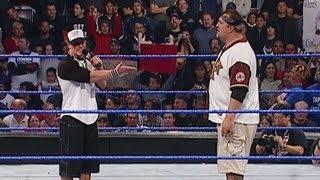 John Cena battle raps against Big Show - December 11, 2003
