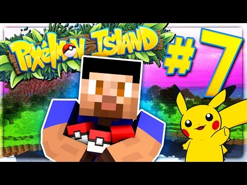 SMALLEST PIKACHU EVER! - PIXELMON ISLAND SMP #7 (Pokemon Go Minecraft Mod)