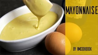 Healthy homemade mayonnaise in few easy steps