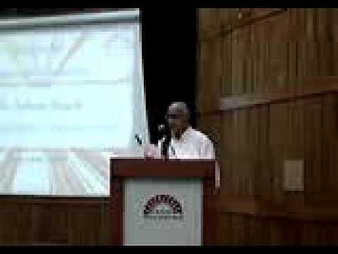 Mr Subroto Bagchi's talk at IIM Bangalore part1