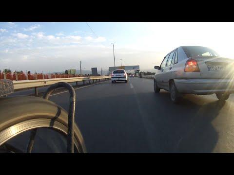 Descending to Downtown Tehran