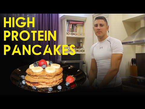 How To Make High Protein Pancakes | Healthy | Easy | Aleksandar Petrov