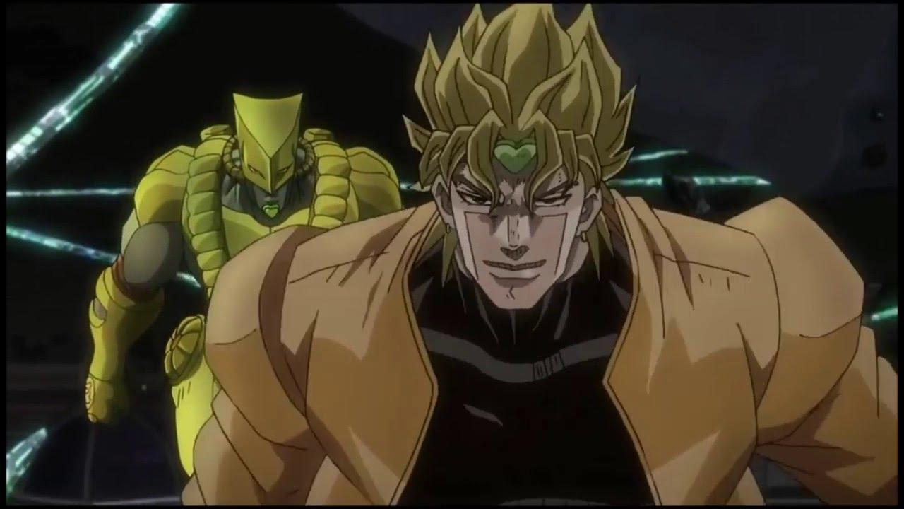 dio vs kakyoin 2015 anime with ova dub