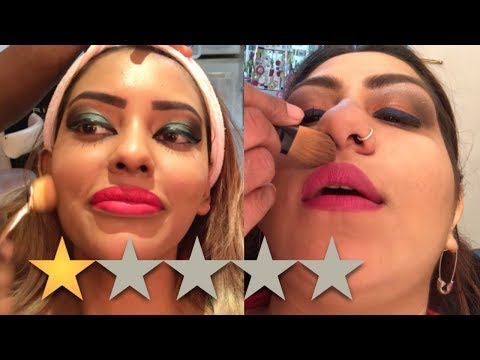 WE BOTH WENT TO THE WORST REVIEWED MAKEUP ARTIST IN DUBAI