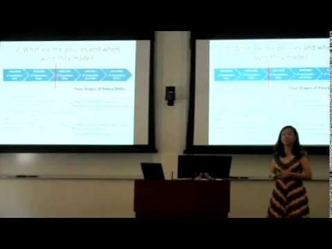 "Presentation | Chelsea Chen on ""How Energy Policies are made in China"""