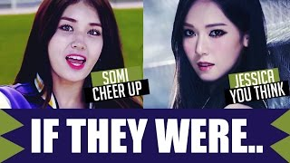 If They Were In Their Kpop Groups.. (Girl Group Ver.) Part 1