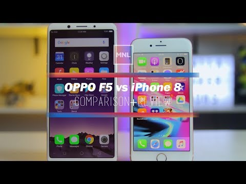 OPPO F5 vs Apple iPhone 8 - $300 vs $800 Comparison, Camera Review