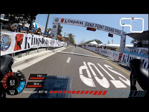 Dana point Grand Prix 2018 cat2/3, 2nd place. - #cycling Los Angeles