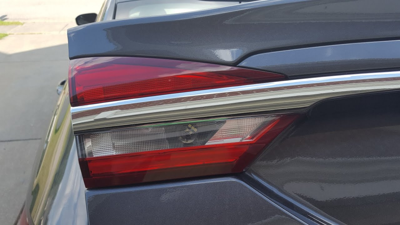 How To Remove The Trunk Lid Taillight On A 2017 Ford Fusion