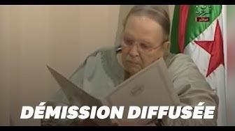 Les images de la démission d'Abdelaziz Bouteflika en Algérie