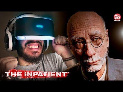 THE INPATIENT - VOLTANDO AO HOSPÍCIO DE UNTIL DAWN EM REALIDADE VIRTUAL ( PT-BR) | PS VR no PS4 Pro