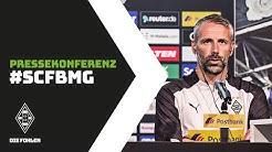 Pressekonferenz nach Freiburg