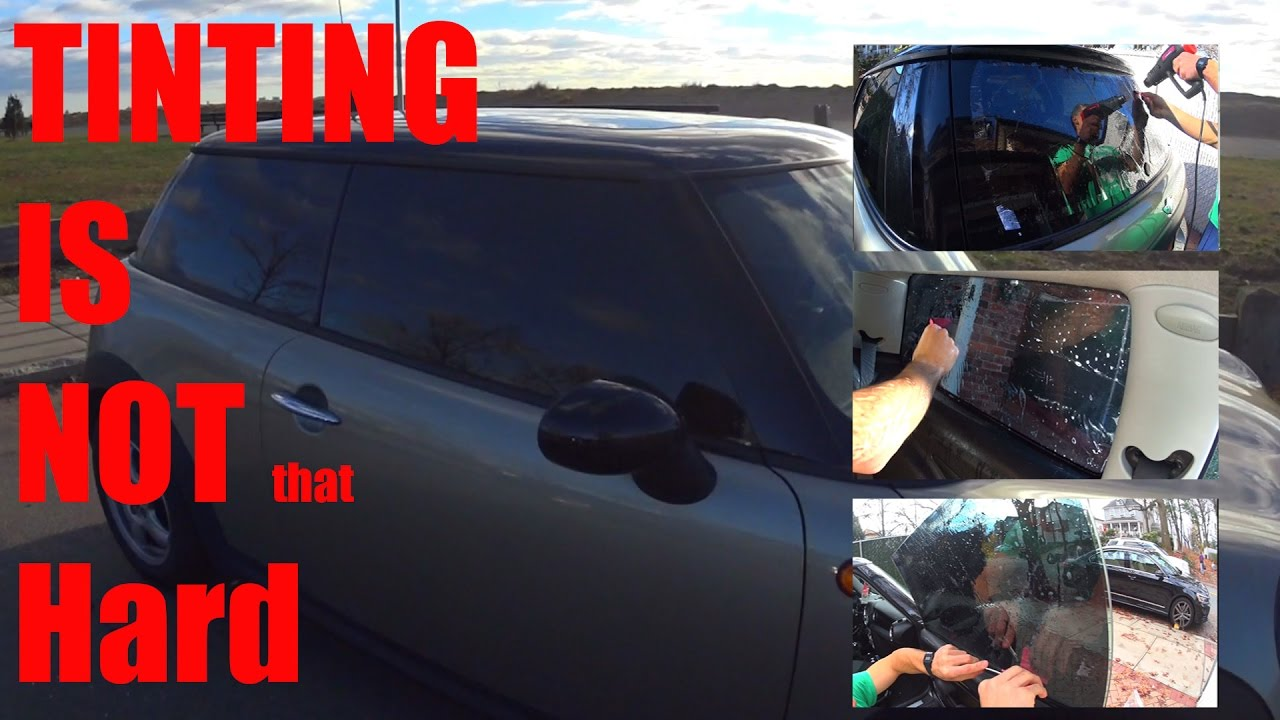 Diy window tinting all windows youtube diy window tinting all windows solutioingenieria Gallery