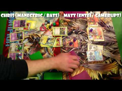 Pokémon TCG - BREAKPoint Legal (!) Cities: R2: Manectric vs Entei / Camerupt