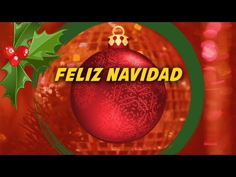 Feliz Navidad (lyrics video for karaoke - letra)