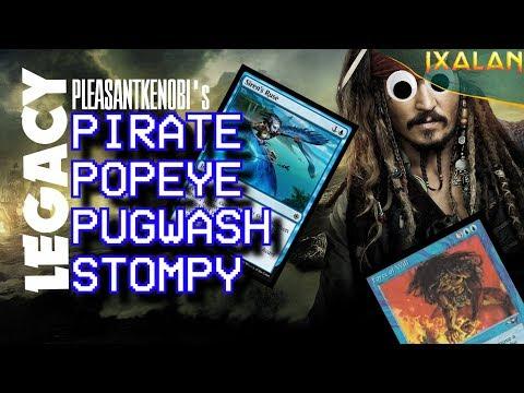 "Ixalan - Legacy Pirate Popeye Stompy - PleasantKenobi Plays - ""Shiver me timbers!"""