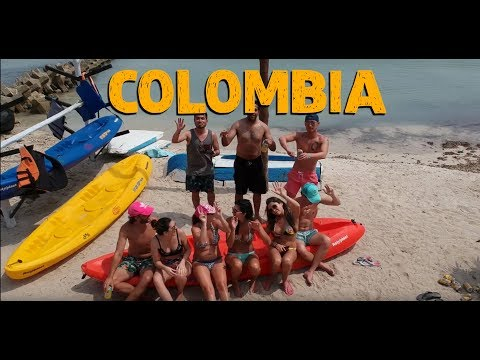 Colombia 2018 - Top Things To Do in Medellín, Cartagena, Isla Barú, and Isla Grande